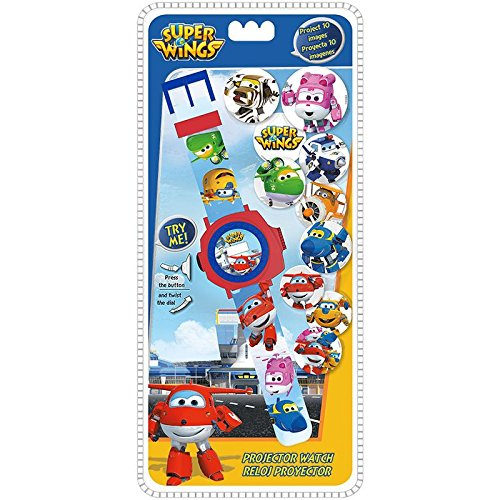 Disney – super Wings digitale klok projector 24 foto's, wi17002