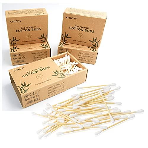 Algodón - Telas de bambú biodegradables - Pack de 5