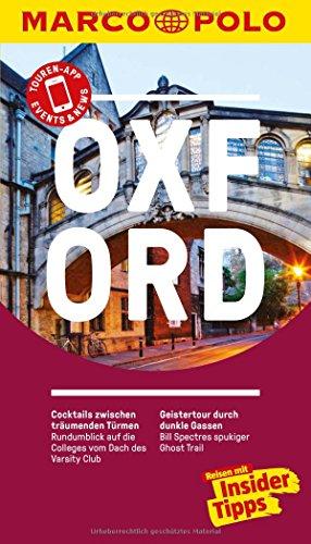 MARCO POLO Reiseführer Oxford: Reisen mit Insider-Tipps. Inkl. kostenloser Touren-App und Event&News