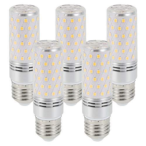 miuline 5pcs Maíz Bombilla LED E14 12W 120W Bombillas de Ahorro de Energía y Protección del Medio Ambiente, Larga Vida útil, Bombilla Incandescente Equivalente