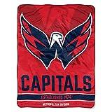 The Northwest Company NHL Washington Capitals 'Break Away' Micro Raschel Throw Blanket, 46' x 60' , Red