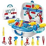Wghz Kinder Ärzte Kit Kinder Rollenspiel Simulation Spielzeug Krankenschwester Spielzeug Werkzeuge...