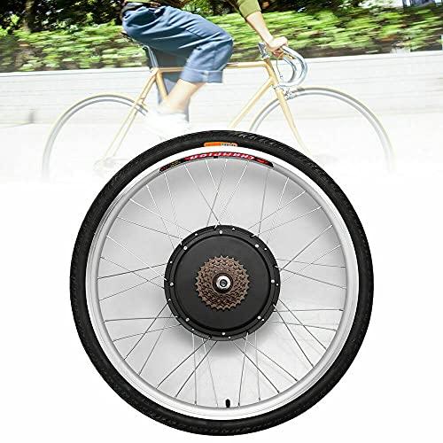 Kit de conversión para bicicleta eléctrica de 26 pulgadas, 36 V, 500/800 W, rueda trasera, rueda libre, kit de conversión para bicicleta eléctrica, kit de conversión de motor