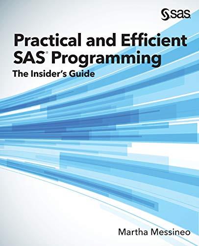 Practical and Efficient SAS Program…