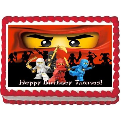 Ninjago Cake Decorations: Amazon com