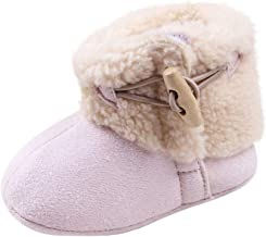 Toddler Kid Baby Girls Boots Winter Warm Winter Shoes Infant Prewalker First Walk Short Snow Boots Crib Shoes