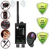 Anti Spy Detector de señal de RF inalámbrico Detector de errores Rastreador GPS Anti seguimiento Detector magnético fuerte para dispositivo de escucha de lente láser con detector de cámara oculta