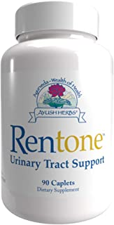 Ayush Herbs Rentone Urinary Tract Health Supplement for Women and Men, Ayurvedic Herb Supplements, 90 Caplets