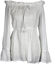 Deluxe Angelica Shirt Top Costume Pirates of the Caribbean 4