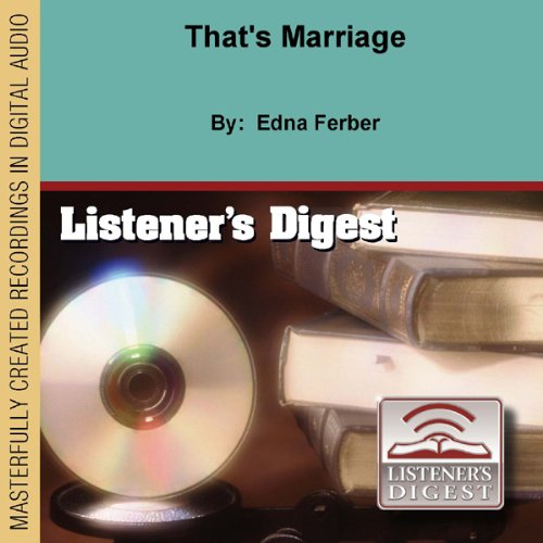 That's Marriage  By  cover art
