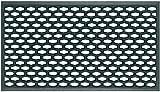 TREND Tappeto in Gomma a Griglia - Zerbino Ingresso Esterno, Antisporco, Drenante MOD. Brick - Misura 40x70 cm