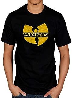Wu Tang Clan Logo T-Shirt Method Man Raekwon Ghostface Killah Black