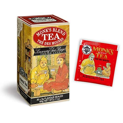 TÈ TEA MONK'S BLEND (ALLA VANIGLIA E MELOGRANO) TEA MLESNA 30 FILTRI
