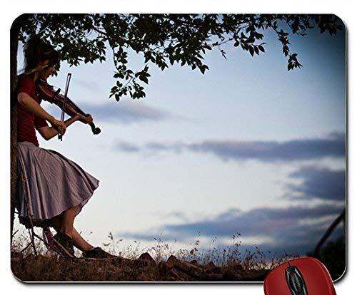 Frauen Musik Violinen Lindsey Stirling Violinist Mouse Pad