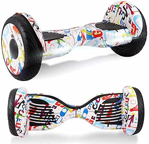 Windway Hoverboard 10 Bluetooth eléctrico Skateboard Skateboard Skateboard Ruedas de patín con...