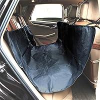 犬の後部座席カバー ペットカーシートカバー犬/猫カーシートカバー防水&スクラッチプルーフ&ノンスリップ耐久性洗濯可能なペットシートカバー車のトラックとSUV ペット用シートカバー (Color : Blue)