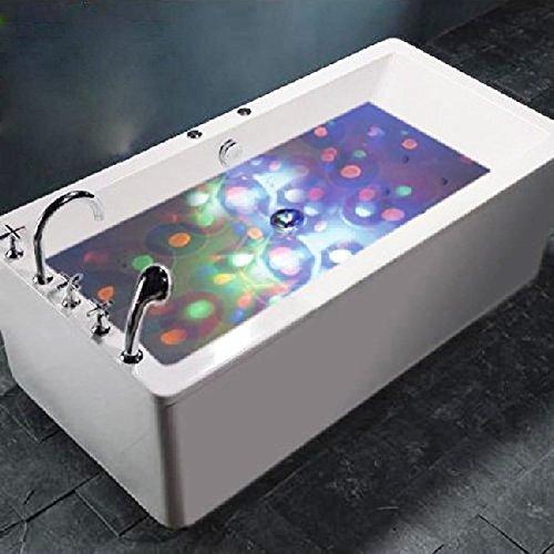 Redlution Multifarbige Unterwasser-LED mit RGB und 5 Modi Disco Beleuchtung Licht Badewanne LED Spielzeug Für den Teich Pool Spa Oder Whirlpool