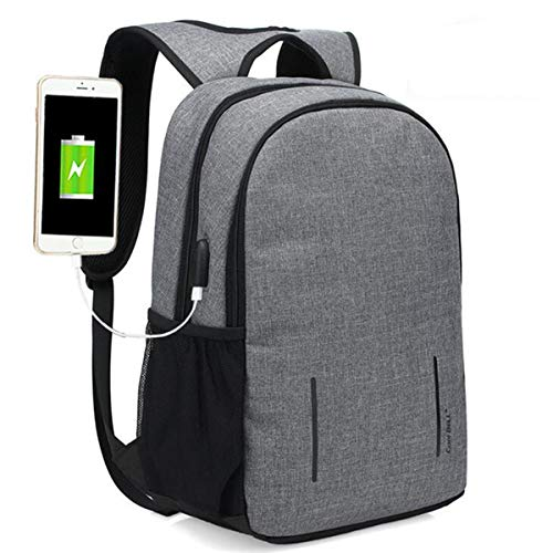 T-ara The New Anti-thief Fashion Men Backpack Multifunctional Raincoat 15.6 inch Laptop Bag Man USB Charging Travel Bag for 15.6/17.3 inch Laptops Essential for hiking