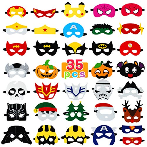 Superheroes Party Supplies with 35 Different Types
