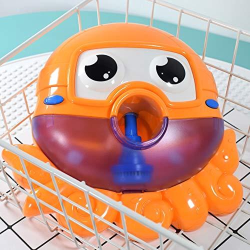 Rain City 2019 Bubble Machine Octopus électrique pour Les Enfants Baigner Bain moussant et Octopus Salle de Bain Jouet Convient pour bébé Plus de 3 Ans à la Lecture