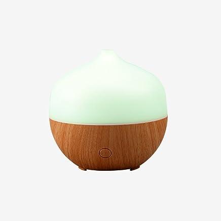 Hengzi LED Ultraschall Aroma Luftbefeuchter Air Aromatherapie Diffusor f/ür /ätherisches /Öl 7 Farben Braun