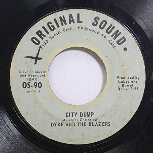Dyke & The Blazers 45 RPM City Dump / You Are My Sunshine