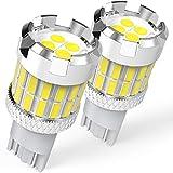 BEAMFLY T15 W16W LED Luces de Estacionamiento Canbus, 912 921 Luz de Marcha Atrás Coche, 12V, 6500K Blanco, 2 Piezas