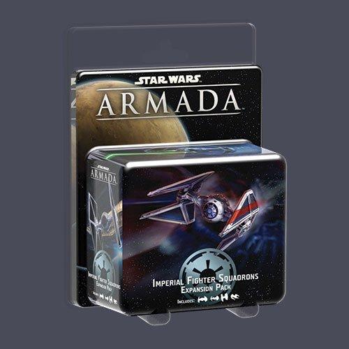 Heidelberger Spieleverlag HEI1208 - Star Wars: Armada -  Sternenjägerstaffeln des Imperiums, Erweiterungspack (deutsch)