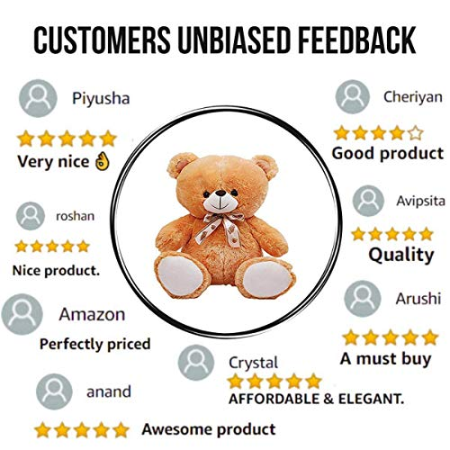 HUG 'n' FEEL SOFT TOYS Teddy Bear 2 feet, Soft Toys, Birthday Gift for Girls/Wife, Boyfriend/Husband, Wedding/Anniversary Gift for Couple Special,... 2