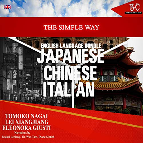 The Simple Way English Language Bundle: Japanese, Chinese, & Italian cover art