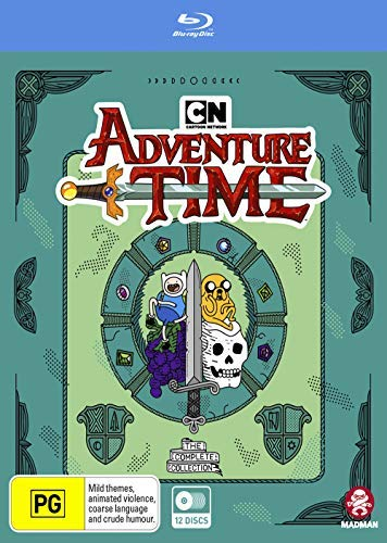 Adventure Time - Abenteuerzeit mit Finn und Jake / Adventure Time - Complete Collection - 12-Disc Box Set ( Adventure Time with Finn & Jake ) [ Australische Import ] (Blu-Ray)