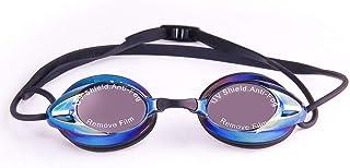 スイミングゴーグル 水泳 水中メガネ 水泳眼鏡 フィットネス スイミングゴーグル 水泳ゴーグル UVカット 曇り防止 柔らかいシリコン 男女兼用
