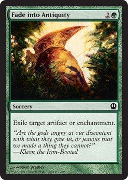 Magic: the Gathering - Fade into Antiquity (157/249) - Theros - Foil by Magic: the Gathering