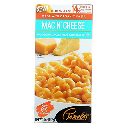 Pamela's Products Pasta Meal,Organic ,Mac & Chee 5 Oz (Pack Of 12)