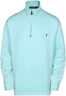 35c4ae8ea Polo Ralph Lauren Men s French-Rib Half-Zip Pullover (Parakeet