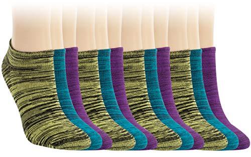 Vitasox 15321 Damen Sneaker Socken Sneakersocken Baumwolle Füßlinge Flammgarn ohne Naht 12 Paar 39/42
