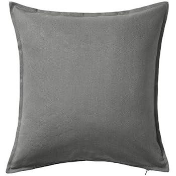 UK GURLI 100/% Cotton Plain Cushion Cover Square 50x50cm 20/'/'x20/'/' IKEA FAST POST