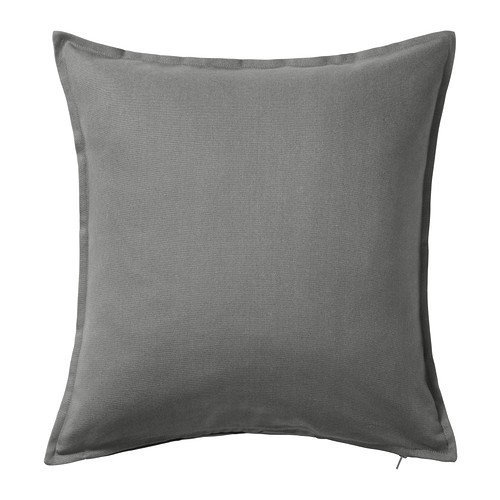 IKEA GURLI - Cushion cover, grey - 50x50 cm (Pack of 3)