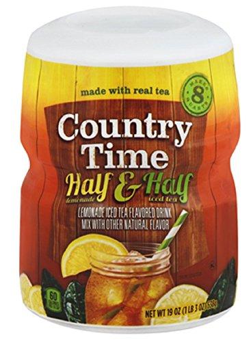 Country Time Half Lemonade & Half Iced Tea 19 Oz (Pack of 2)