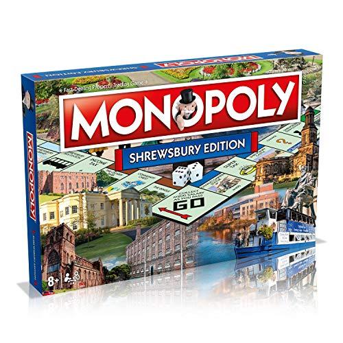 Shrewsbury Town Monopoly Board Game