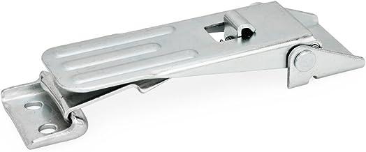 Ganter Normelemente GN 821-400-S-ST-1 821-400-S-ST-1 spansluitingen, verzinkt, blauw gepassiveerd, met zekering