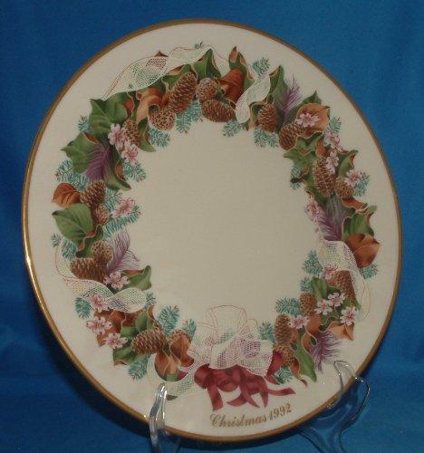 Guirnalda de la Navidad de 1992 Lenox Colonial, Carolina del Norte, el...