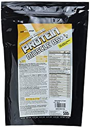 BWG Premium Nature Protein Muscle 85+, Elite Line, Strawberry Cream, 500 g, 1er Pack (1 x 500 g)