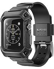SUPCASE Apple Watch Series 3 ケース バンド 一体 落下衝撃 吸収 アップルウォッチ シリーズ 3 対応 カバー