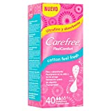 CAREFREE protege slips flexiconfort cotton fresh caja 40 uds