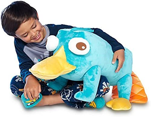 Disney Store Jumbo Perry the Platypus Plush from Phineas & Ferb by Disney Interactive Studios