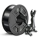 SUNLU Silk PLA+ 3D Printer Filament, 3D Printing PLA+ Filament 1.75mm, 1kg(2.2LBS) Spool, Black Jade