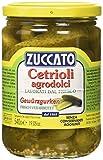 Zuccato Cetrioli Agrodolci - Pacco da 12 x 540 g