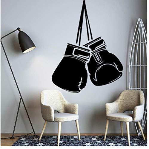 Boxhandschoen kunststicker waterdichte muursticker vinyl muurkunst sticker slaapkamer decor 43x56cm