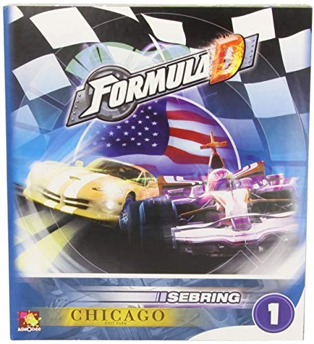 Zygomatic- Cars Formula d: Circuito 1: Sebring - Chicago - Varios Idiomas, Color (Asmodee FOR02ML)